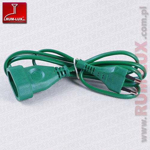 Przedłużacz PM/1-2-1,5M zielony